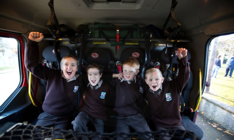 Pictured are from left: Jack Flanagan, Eoin O'Shea, Luke Carmody and Scott Grant.  Pic Sean Curtin Photo.