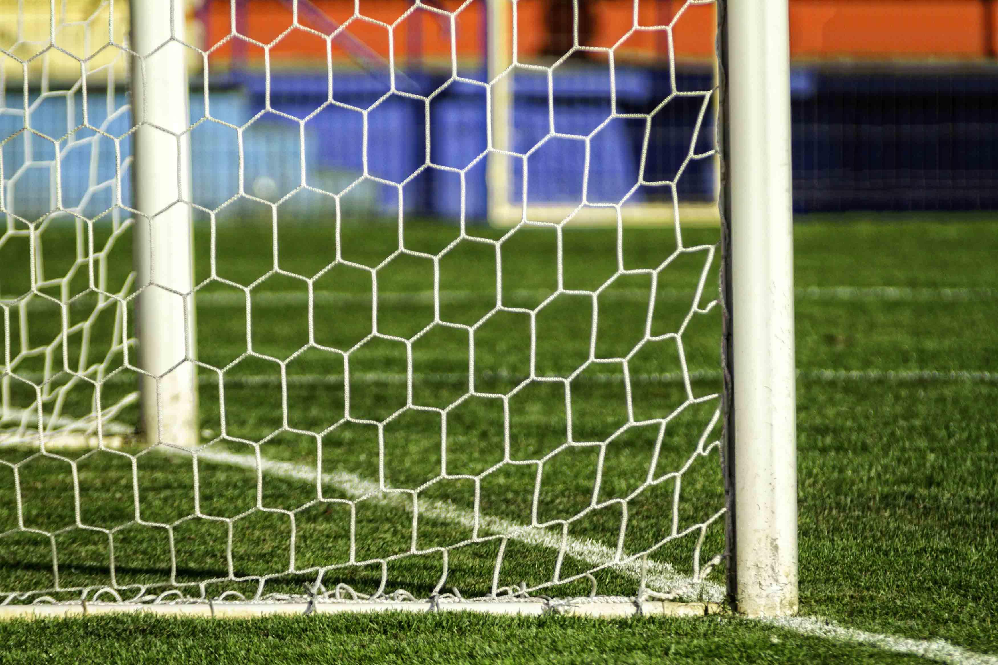 Football soccer goal net