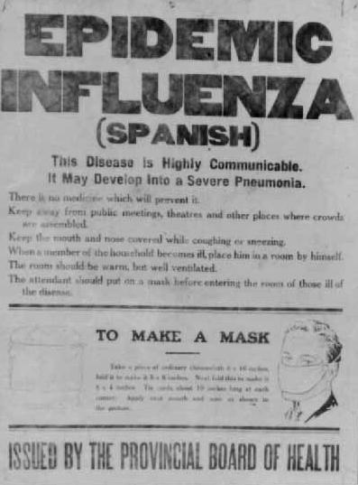 Image result for SPANISH FLU ireland
