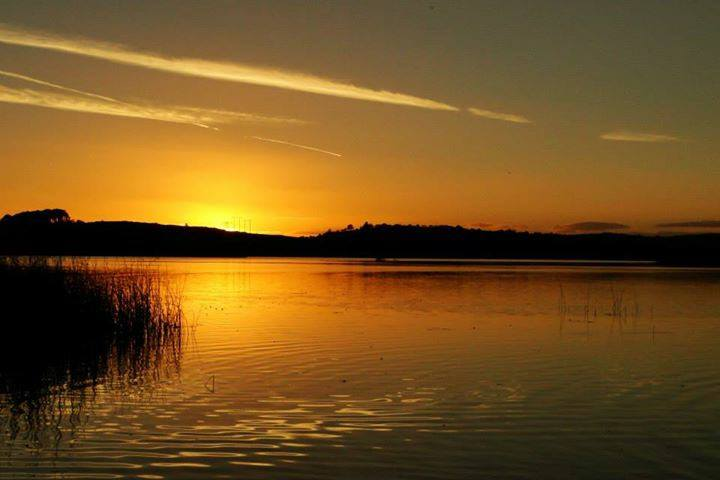 Sunset at Ballyalla Lake near Ennis. Image Aoife Leighton