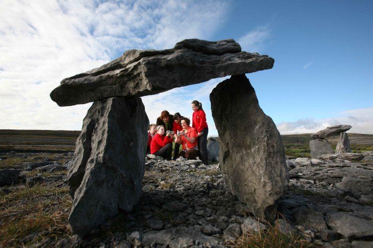 Burren Dolmen removal