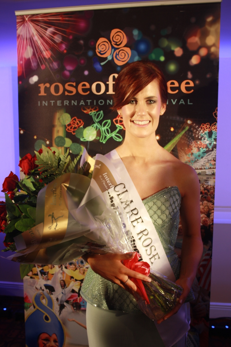 Cratloe native named Clare Rose of Tralee