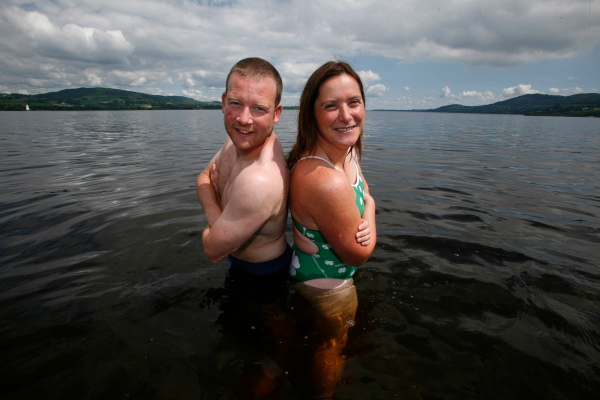 Clare pair embark on 38km swim