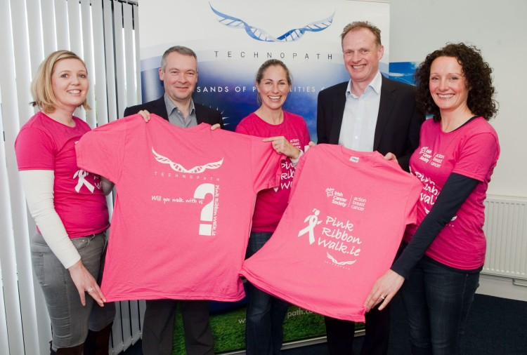 Pink Walk Killaloe Technopath 2014