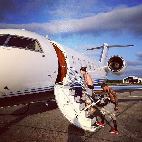 justinbieber at Shannon
