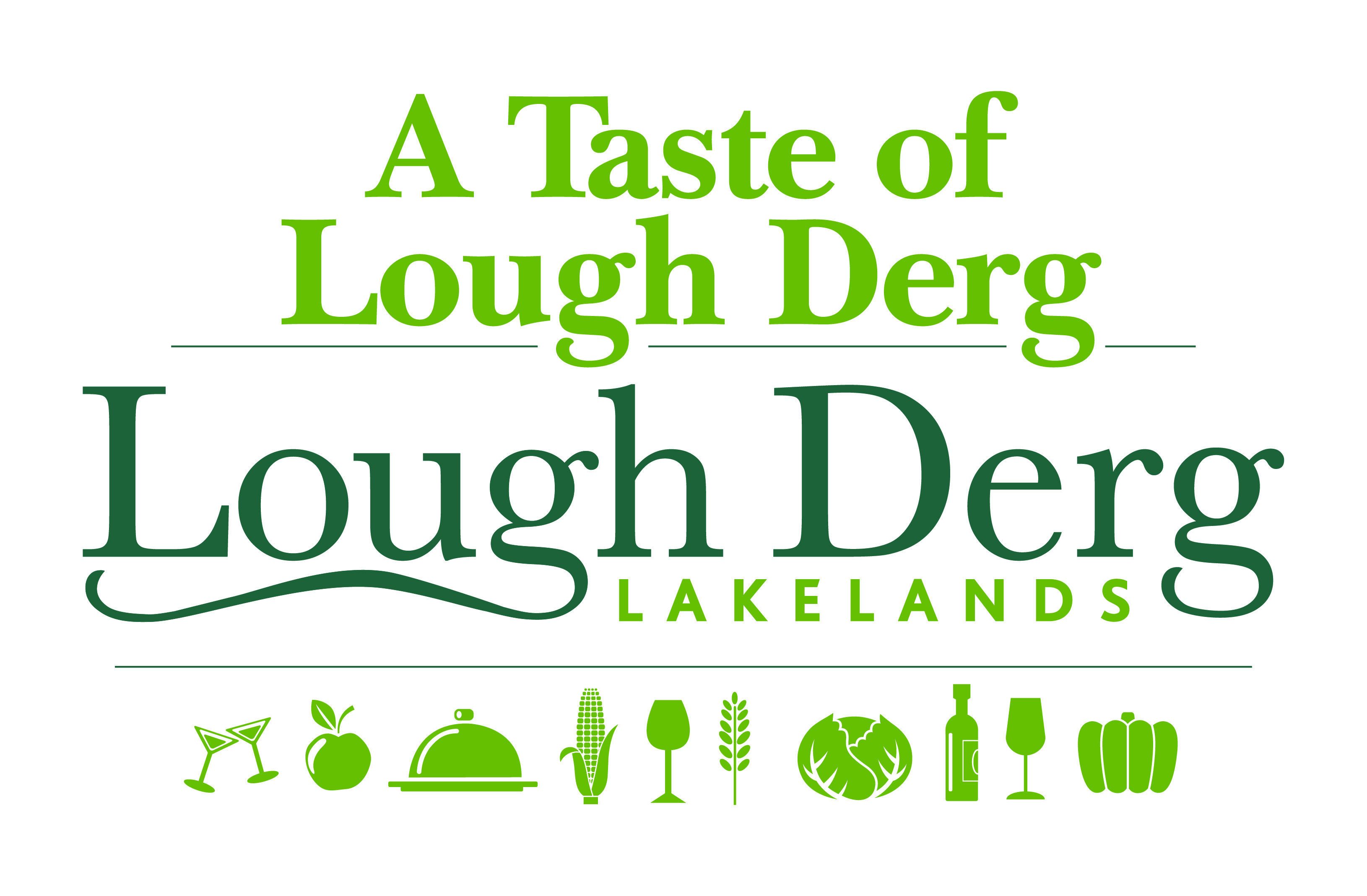 Lough Derg Lakelands Tase of Logo
