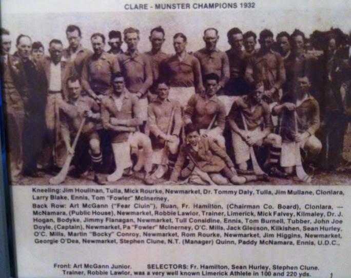 1932 clare team