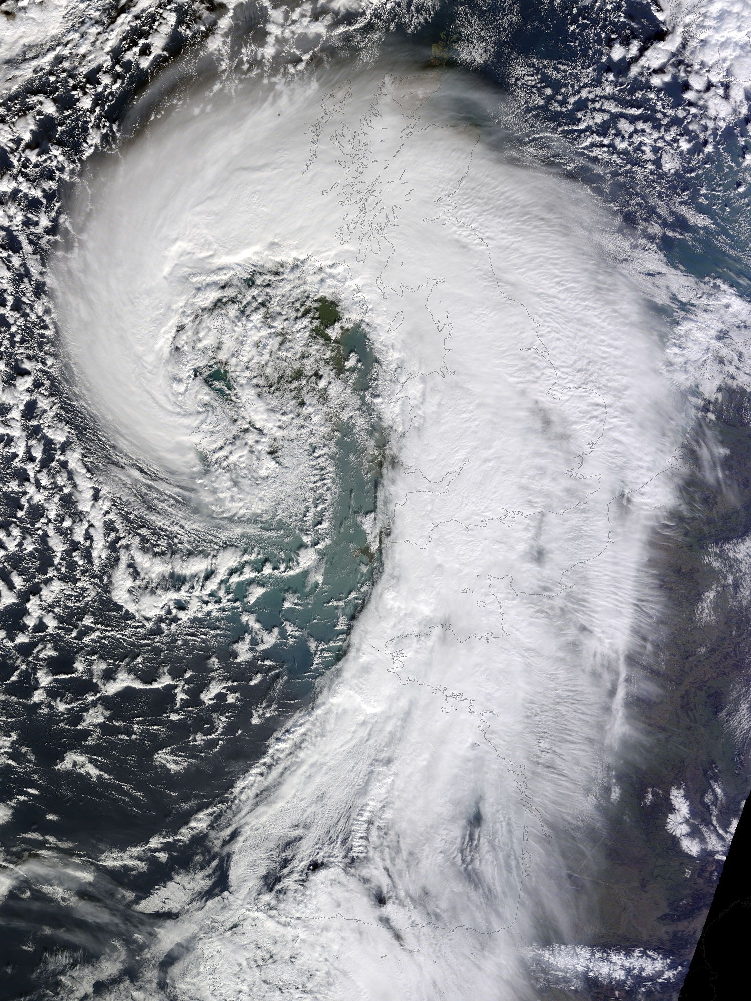 Storm system on February 12th