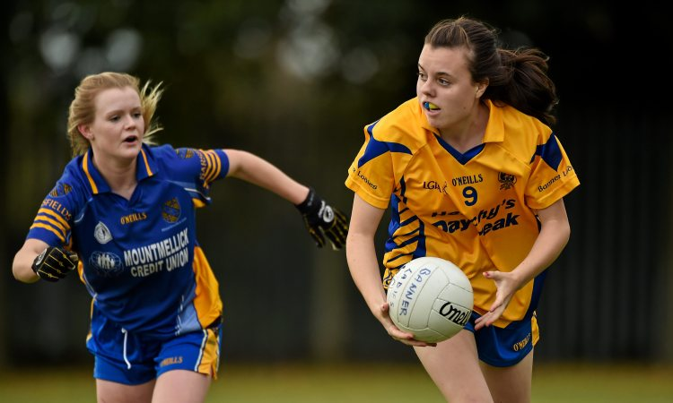Grainne Nolan is expected to feature for Clare at the weekend. Picture credit: Barry Cregg / SPORTSFILE