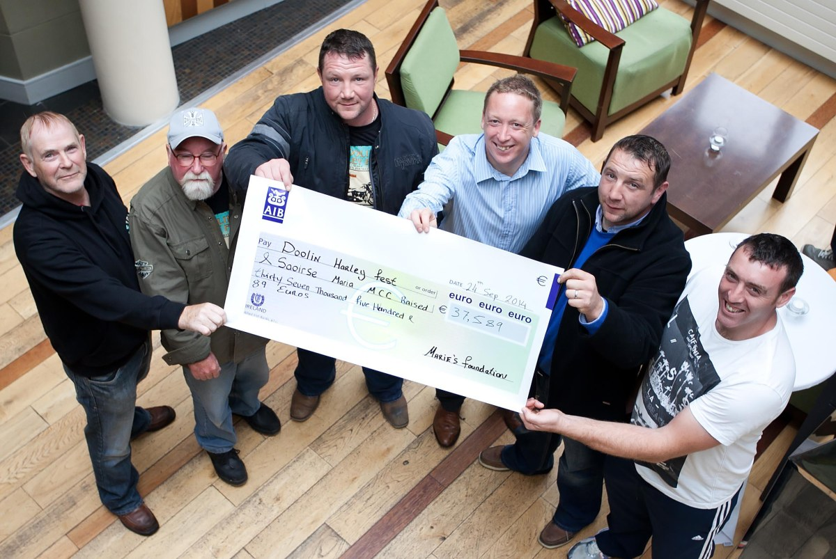 Doolin festival raises €37K for cancer charities