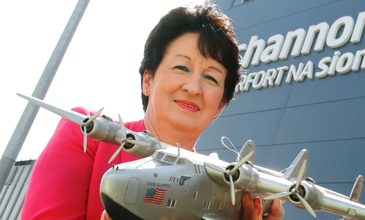 Shannon Airport Chairman Rose Hynes.  Picture: Don Moloney / Press 22