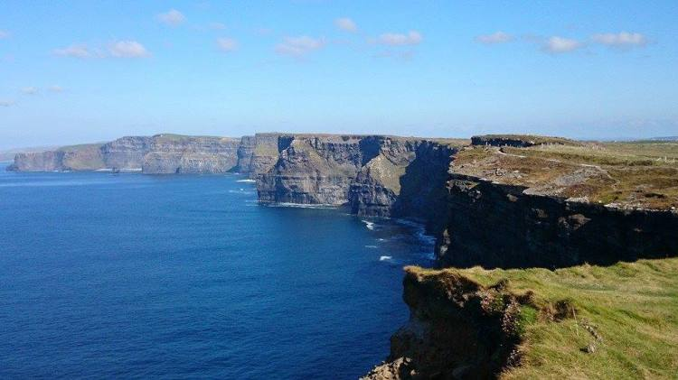 Cliffs of Moher. Photo  Anna Shorten