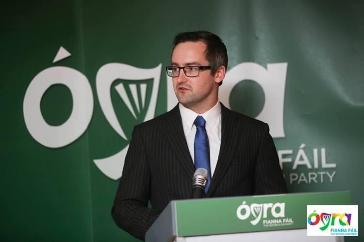 President of Ógra Fianna Fáil, Eoin Neylon