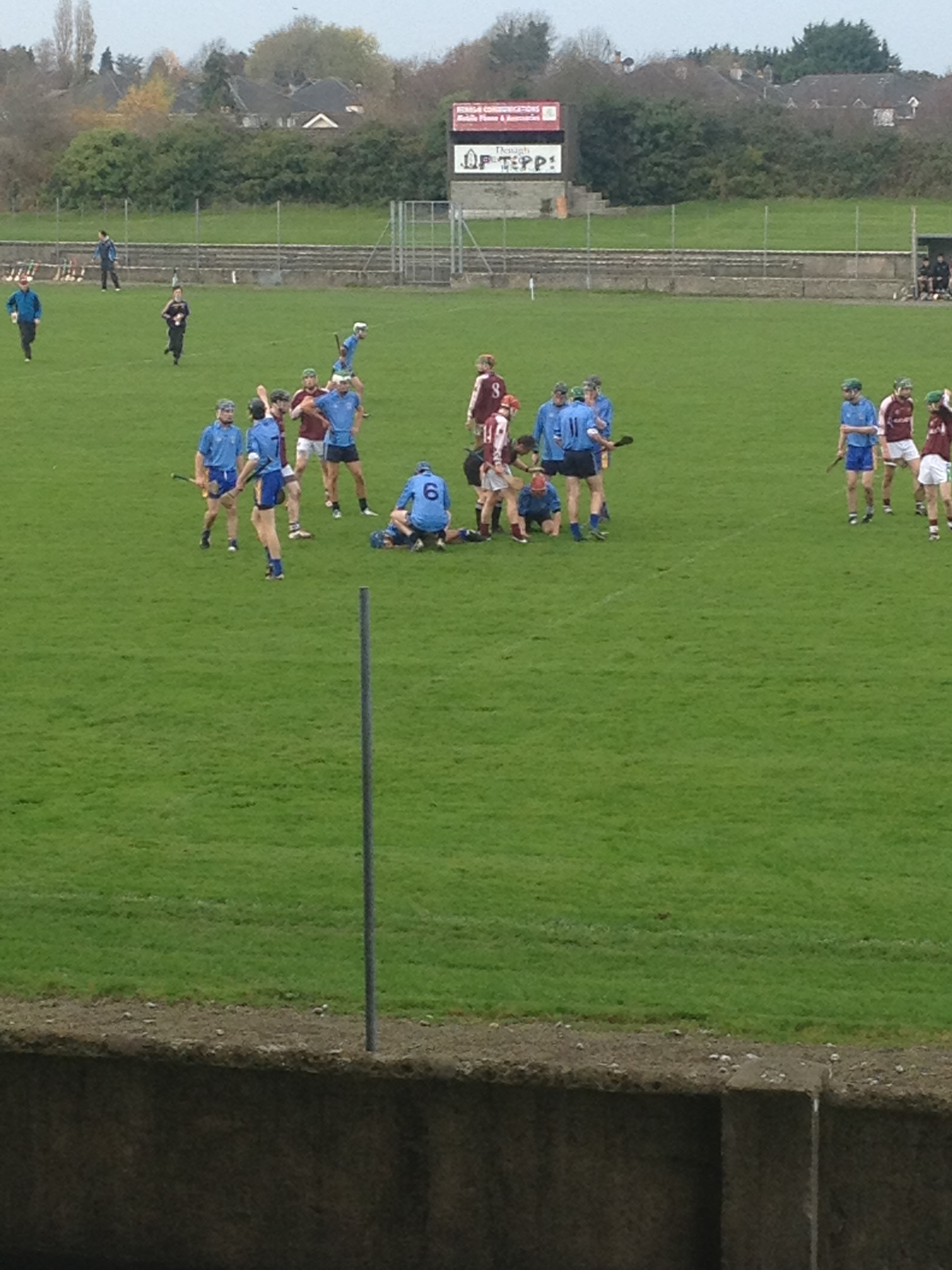 Action from the St Caimins vs Our Ladys Templemore clash
