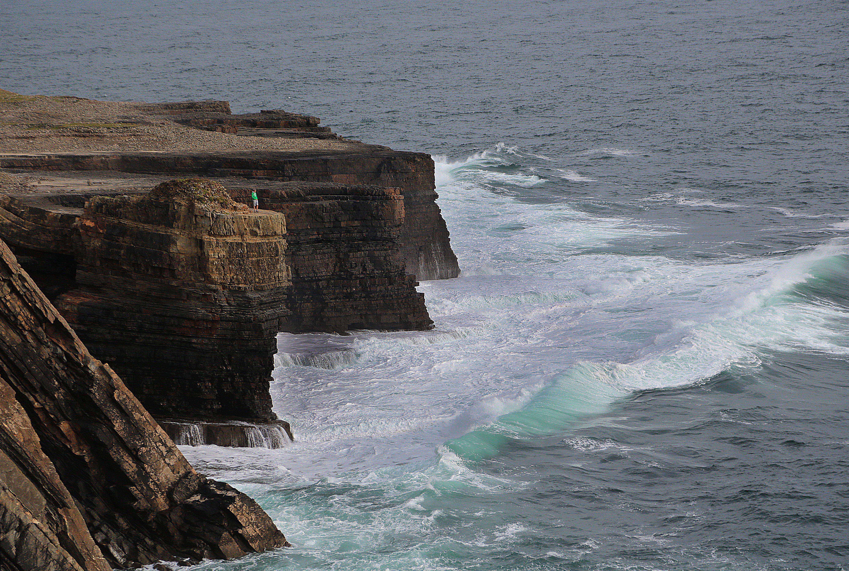 Loop Head Cliffs on Loop Head Peninsula in Co Clare. Photo Valerie O'Sullivan.