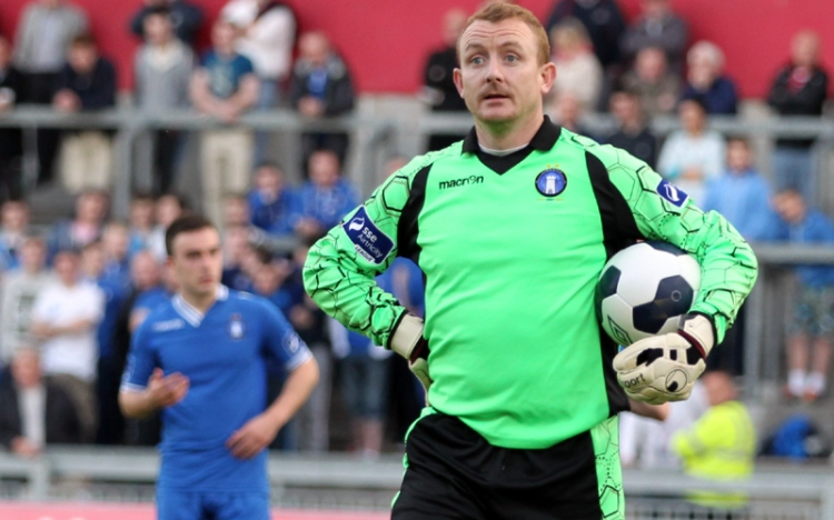 Barry Ryan pictured in action for Limerick FC. Picture courtesy www.limerickfc.ie