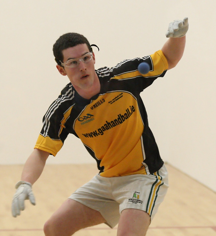 Diarmuid Nash pictured in action.