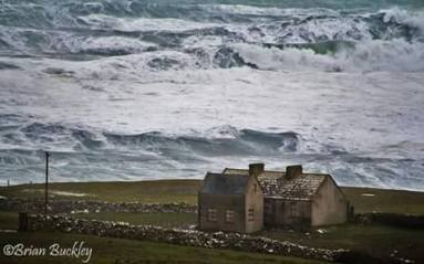 Doolin in north Clare on Thursday 15th Jan 2015. Photo Brian Buckley