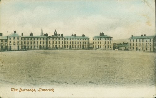 Limerick's New (now Sarsfield) Barracks, around 1900
