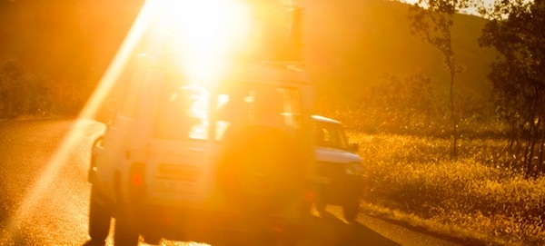 road glare