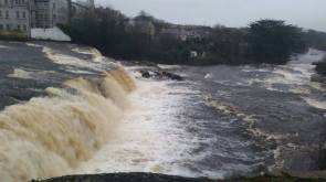The Falls at Ennistymon, Co Clare. Photo Luke Carter