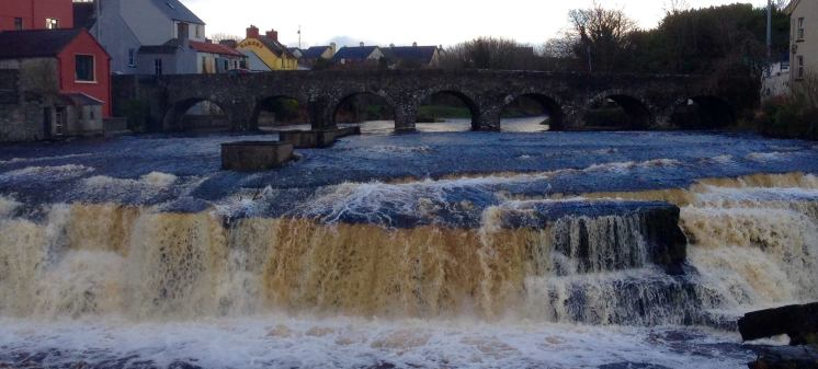 The Falls at Ennistymon. Photo Mike Sacchetti
