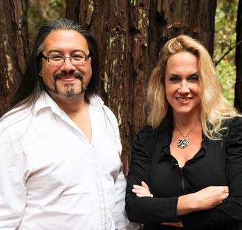 Brenda and John Romero