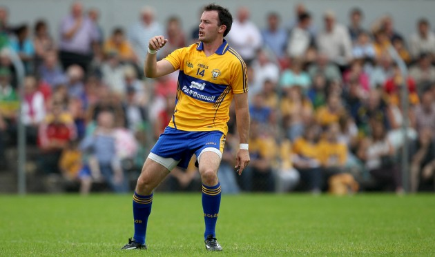 David Tubridy played a key role in Clare's opening round win in the NFL.