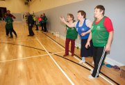 L-R Mary O'Gorman, Helen Flanagan and Teresa Danagher taking part in the Go For Life Games at Inagh Community Centre.The overall aim of Go for Life is to get older people more active, more often. The aim of the Go for Life Games is to involve older people in recreational sport. The games are run with the support of Clare Sports Partnerships and the HSE..Pic Arthur Ellis.