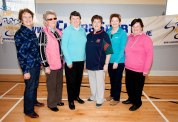 Mullagh team L-R Helen McGrath, Gwen Frawley, Mary-Anne Griffin, Mary Clancy, Irene Meade and Mary-Anne Scales taking part in the Go For Life Games at Inagh Community Centre.The overall aim of Go for Life is to get older people more active, more often. The aim of the Go for Life Games is to involve older people in recreational sport. The games are run with the support of Clare Sports Partnerships and the HSE.Pic Arthur Ellis.