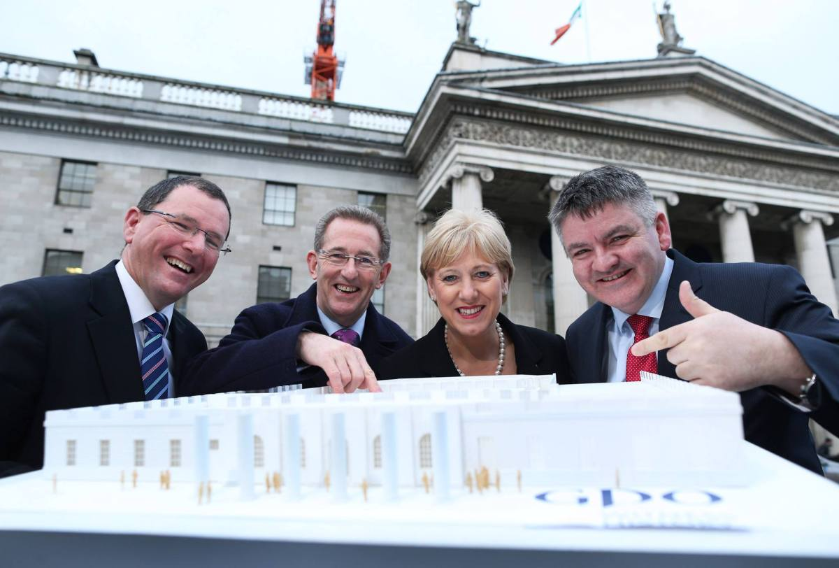 Shannon Heritage wins contract for the GPO Centre