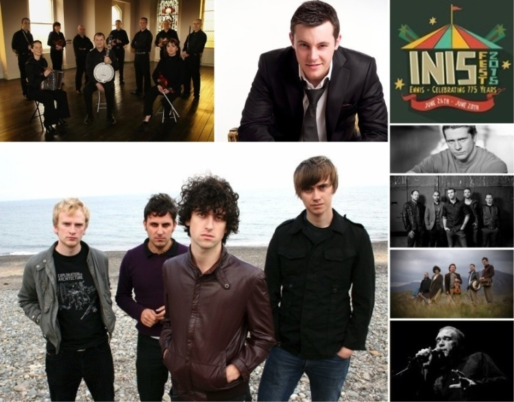 Some of music acts that were lined up for INIS Fest 2015