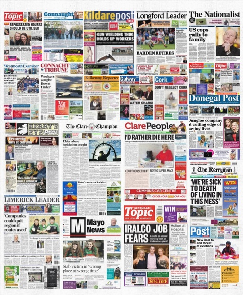 local newspapers ireland