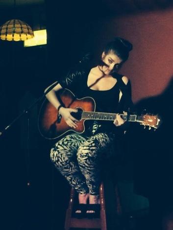 Scariff singer, Sarah McTernan.