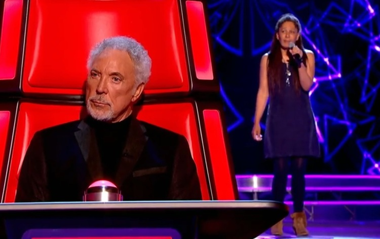 Sharon Murphy was chosen by Tom Jones to join his team on The Voice UK. Image BBC