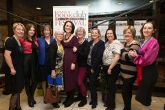 Members of the organising committee at the Ennis Book Club Festival this weekend. Photograph by Eamon Ward