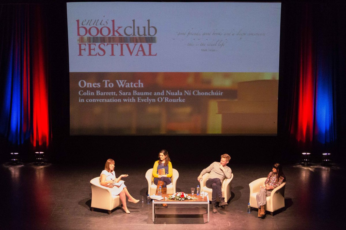 GALLERY Ennis Book Club Festival 2015