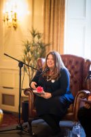 Roisin Ingle speaking at the Ennis Book Club Festival this weekend. Photograph by Eamon Ward