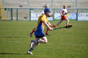 Ailish Considine in action for Clare. Picture: Martin Kaiser