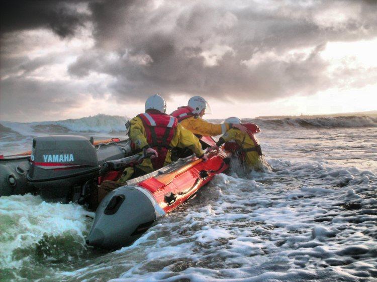 Doolin Coast Guard pictured at Lahinch. Image courtest of doolincoastguard