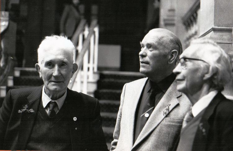 Junior Crehan, Ollie Conway and John Joe Healy, photo courtesy Pat Mackenzie