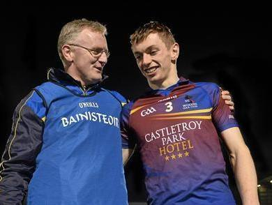 UL Manager Brian Lohan with Captain David McInerney