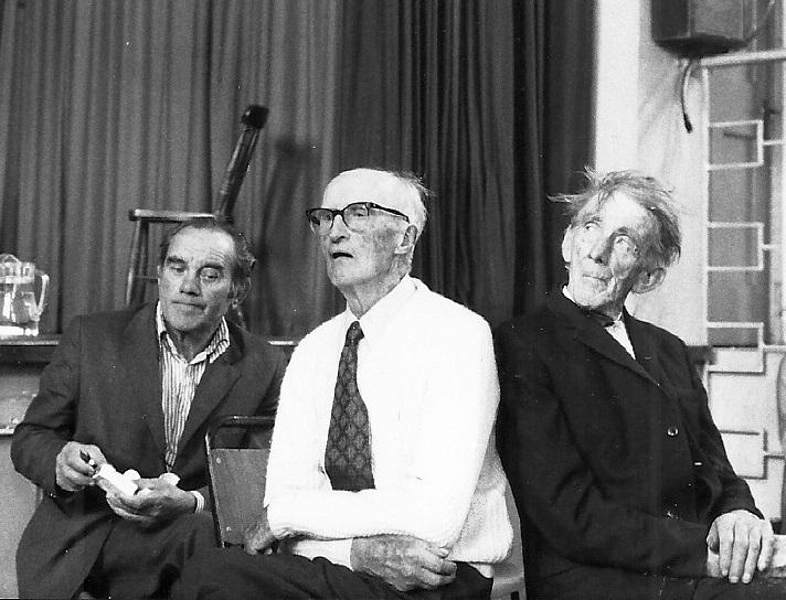 Siney Crotty, Straighty Flanagan and Martin Reidy, photo courtesy Pat Mackenzie