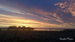 Sunrise in Shannon, County Clare. Photo Pamela O'Brien