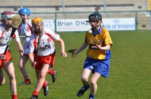 Vera Loughane takes on the Derry defence. Picture: Martin Kaiser