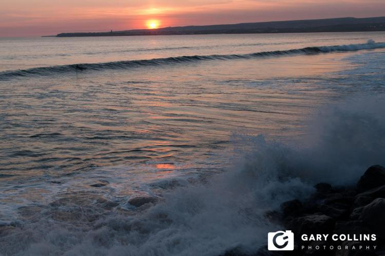 Sunset at Lahinch, Co. Clare on Monday evening. Pic Gary Collins Photography