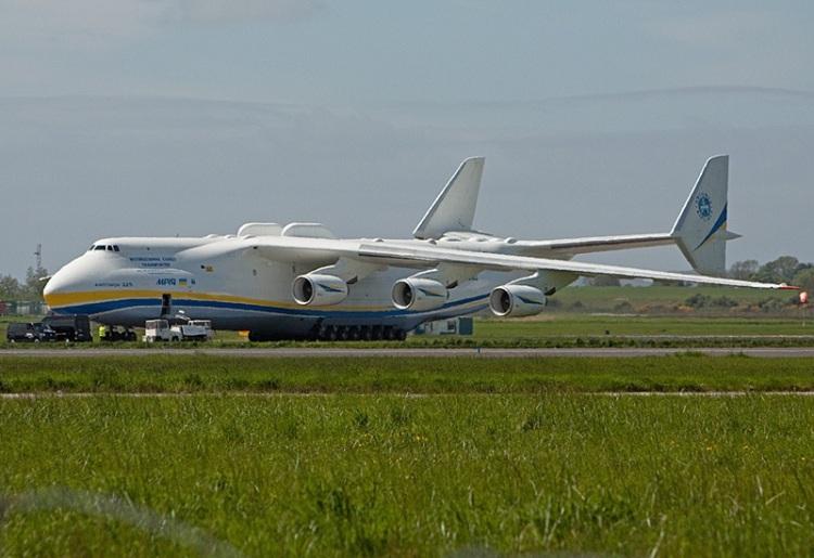 The Antonov 225 Mriya pictured at Shannon Airport in May 2013. Photo: © Pat Flynn 2015