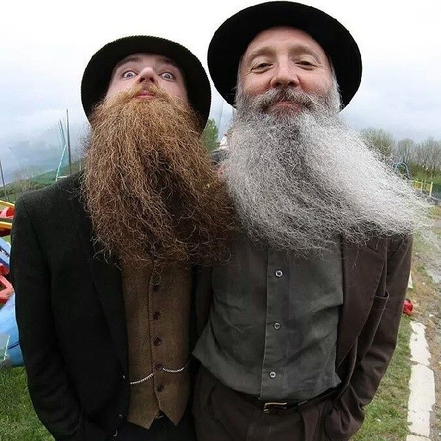 The search is on for the owner of Ireland's Best Beard