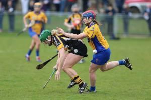 Chloe Morey puts the pressure on. Picture - Aidan Ryan