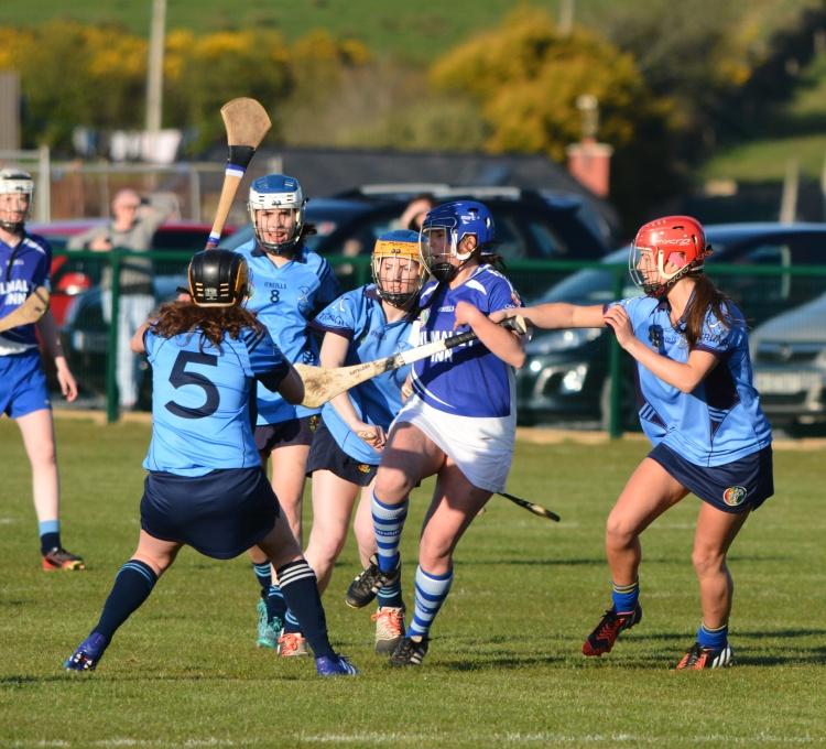Claire McMahon in action for Kilmaley vs Truagh/Clonlara. Picture by David Dillon